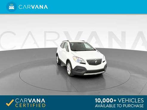 2016 Buick Encore Sport Utility 4D suv White - FINANCE ONLINE for sale in Indianapolis, IN
