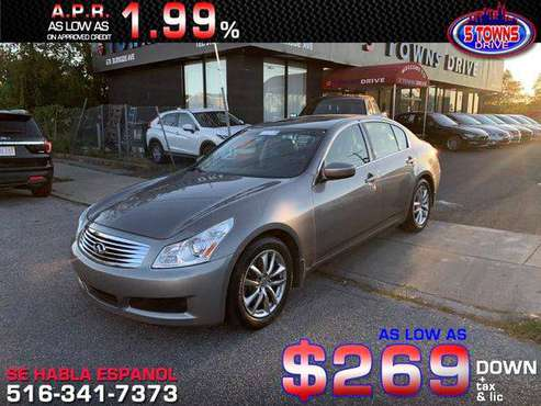 2009 INFINITI G37 Sedan Journey **Guaranteed Credit Approval** for sale in Inwood, NY