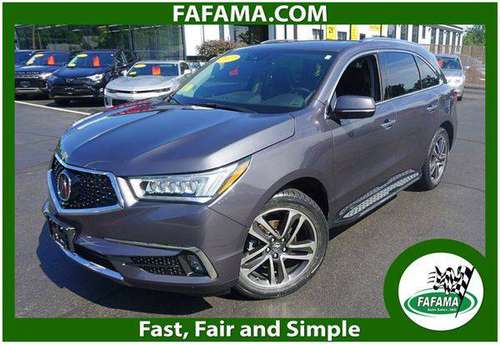 2017 Acura MDX 3.5L SH-AWD Advance Pkg - We Can Finance Anyone for sale in Milford, MA