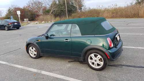 2008 MINI COOPER 5 SPEED CONVERTIBLE - cars & trucks - by owner -... for sale in Yarmouth Port, MA
