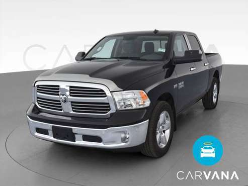 2017 Ram 1500 Crew Cab SLT Pickup 4D 5 1/2 ft pickup Black - FINANCE... for sale in Covington, OH
