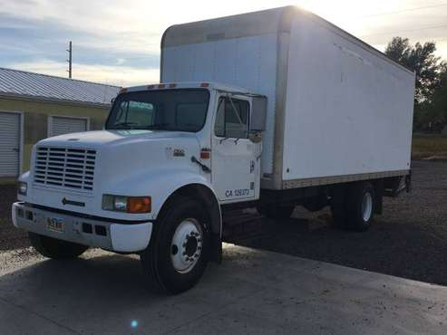 1999 International 4700 53k Miles Heavy Duty Lift Gate and Side Door for sale in Spearfish, SD