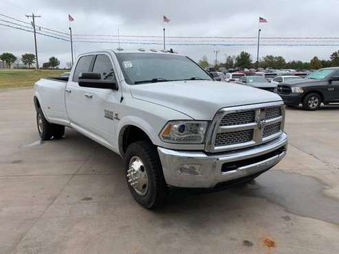2016 Ram 3500 truck Laramie - cars & trucks - by dealer - vehicle... for sale in Chandler, OK