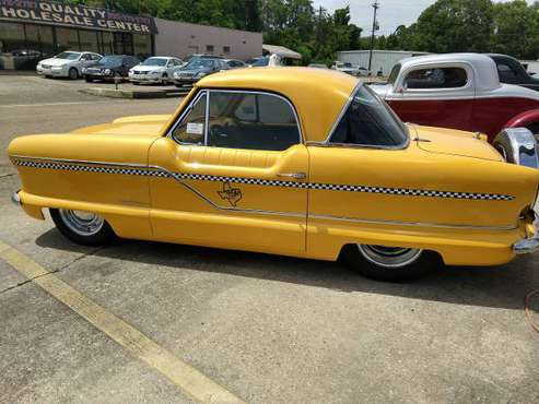 "1960 Nash Metropolitan Custom ""Texas Taxi"" for sale in Baton Rouge , LA"