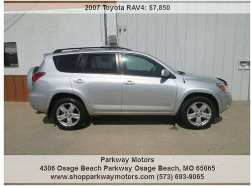 2007 Toyota RAV4 Sport SUV V6 FWD for sale in osage beach mo 65065, MO