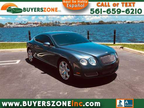2007 Bentley Continental GT Coupe for sale in West Palm Beach, FL