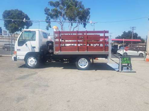 2001 CHEVY W4500, STAKEBED WITH LIFTGATE, 24K LOW MILES! I FINANCE for sale in Rosemead, CA