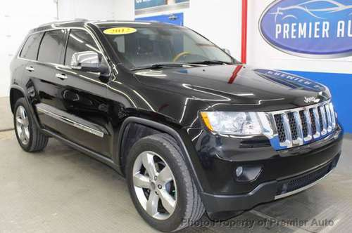 2012 *Jeep* *Grand Cherokee* *OVERLAND* Brilliant Bl for sale in Palatine, IL