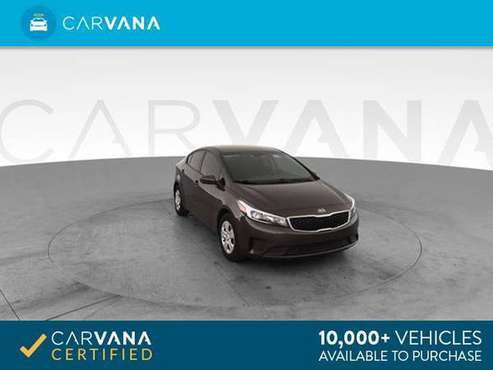 2017 Kia Forte LX Sedan 4D sedan Brown - FINANCE ONLINE for sale in Atlanta, CA