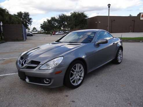 2009 MERCEDES BENZ SLK300 PREMIUM NAV 80K GREAT SHAPE CLEAN FL TITLE for sale in Fort Myers, FL