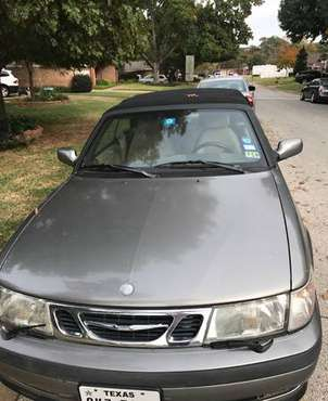 2001 saab 9-3 convertible for sale in Hurst, TX