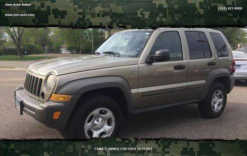 2007 Jeep Liberty Sport 4dr SUV 4WD -GUARANTEED CREDIT APPROVAL! for sale in Anoka, MN