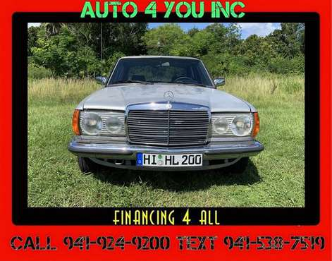 1981 Mercedes Benz E280 ~ Sweet Ride ~ New Tires ~ Auto4you for sale in Sarasota, FL