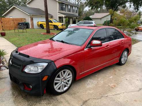 2009 Mercedes Benz C300 4Matic 4 Door SUNRoof Leather Low Miles for sale in Orlando, FL