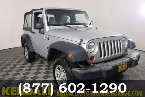 2009 Jeep Wrangler Bright Silver Metallic Sweet deal*SPECIAL!!!* for sale in Anchorage, AK