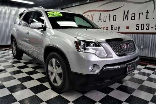 2011 GMC Acadia AWD All Wheel Drive SLT-2 SUVAWD All Wheel Drive for sale in Portland, WA