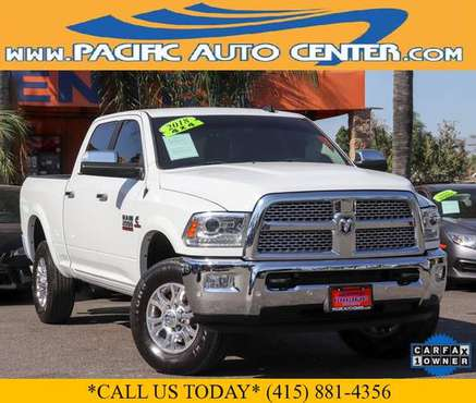 2018 Ram 2500 Diesel Laramie Crew Cab 4x4 Pickup Truck #31850 - cars... for sale in Fontana, CA