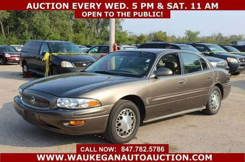2000 *BUICK* *LESABRE* CUSTOM 3.8L V6 LEATHER ALLOY GOOD TIRES 345194 for sale in WAUKEGAN, WI