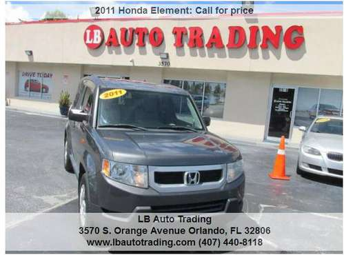 2011 HONDA ELEMENT (buy here pay here) for sale in Orlando, FL