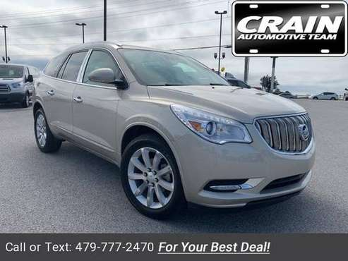 2015 Buick Enclave Premium Group suv Champagne Silver Metallic for sale in Springdale, AR