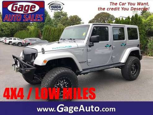 2013 Jeep Wrangler Unlimited Moab Moab SUV for sale in Milwaukie, OR