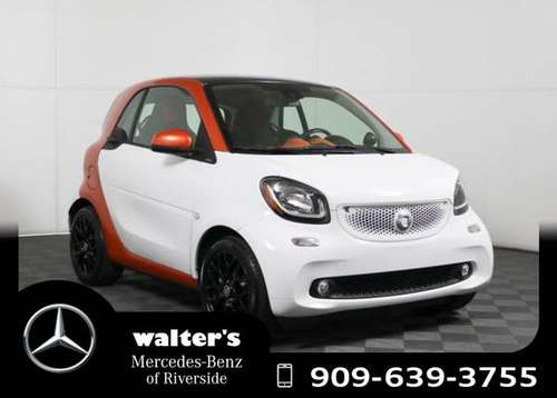 2016 smart fortwo RWD 2dr Cpe Passion Passion for sale in Riverside, CA