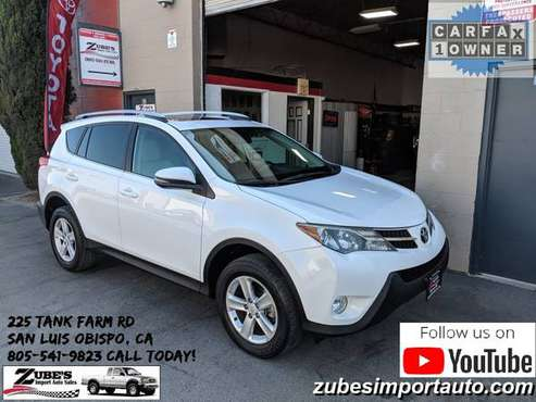 ►2013 TOYOTA RAV4 XLE FWD AUTO *70K* ONE OWNER- LIKE NEW!► for sale in San Luis Obispo, CA