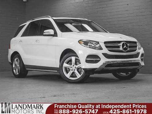 2016 *Mercedes-Benz* *GLE* *4MATIC 4dr GLE 350* Pola for sale in Bellevue, WA
