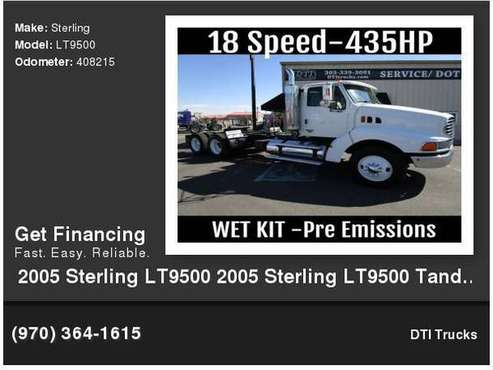 2005 Sterling LT9500 Tandem Axle Day Cab, 404,594 Miles, Mercedes OM for sale in Wheat Ridge, CO