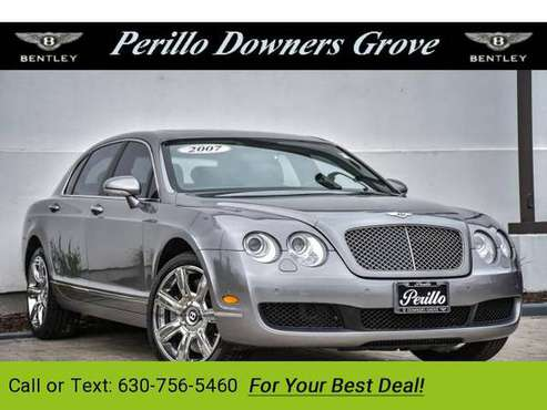 2007 Bentley Continental Flying sedan Silver Tempest for sale in Downers Grove, IL