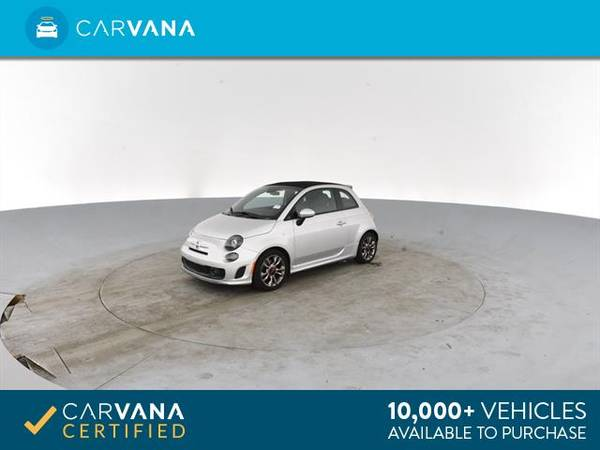 2014 FIAT 500c GQ Edition Cabriolet 2D Convertible Silver - FINANCE for sale in Atlanta, CA – photo 6