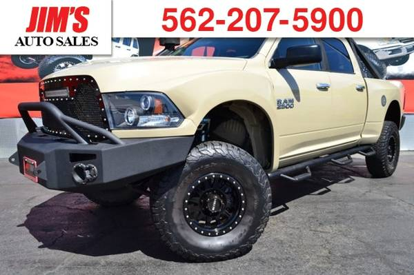 *2014* *Ram* *2500* *Method Wheels BF Goodrich Tires King Shocks Fiber for sale in HARBOR CITY, CA