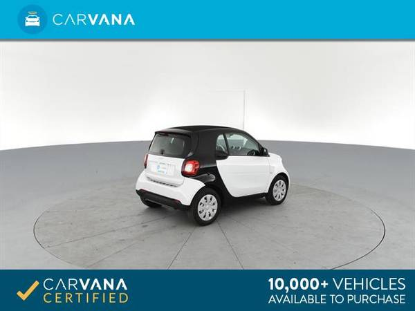 2017 smart fortwo Proxy Hatchback Coupe 2D coupe Black - FINANCE for sale in Arlington, District Of Columbia – photo 11