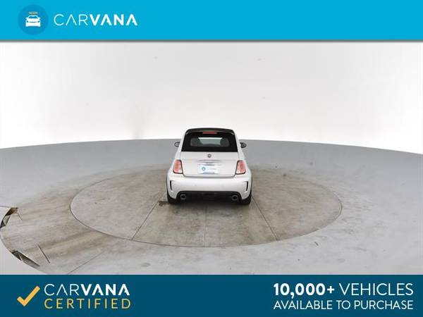 2014 FIAT 500c GQ Edition Cabriolet 2D Convertible Silver - FINANCE for sale in Atlanta, CA – photo 20