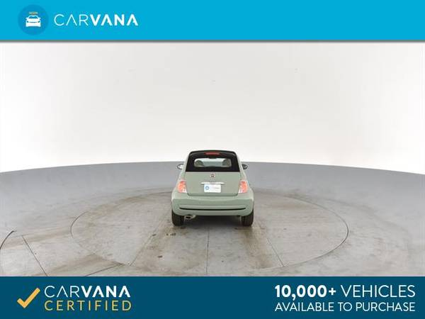 2013 FIAT 500 500c Pop Cabrio Convertible 2D Convertible Green - for sale in Sacramento , CA – photo 20