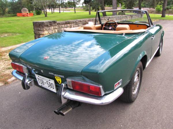 1972 Fiat 124 Spider, Classic Sportscar in Solid Condition for sale in Minneapolis, MN – photo 5