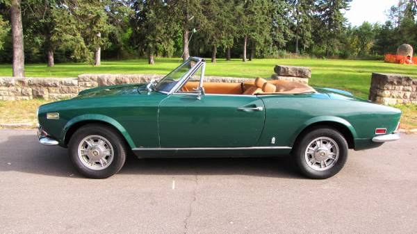 1972 Fiat 124 Spider, Classic Sportscar in Solid Condition for sale in Minneapolis, MN – photo 2