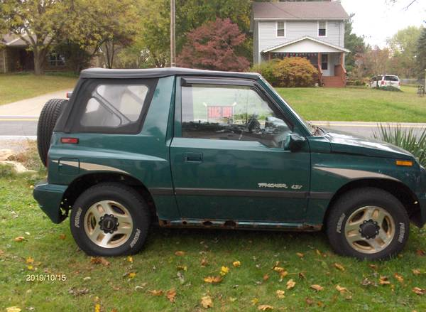 1996 GEO Tracker 4X4 for sale in Akron, OH – photo 2