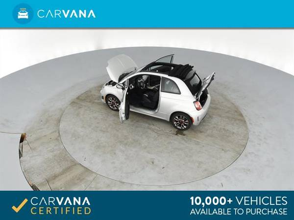 2014 FIAT 500c GQ Edition Cabriolet 2D Convertible Silver - FINANCE for sale in Atlanta, CA – photo 13