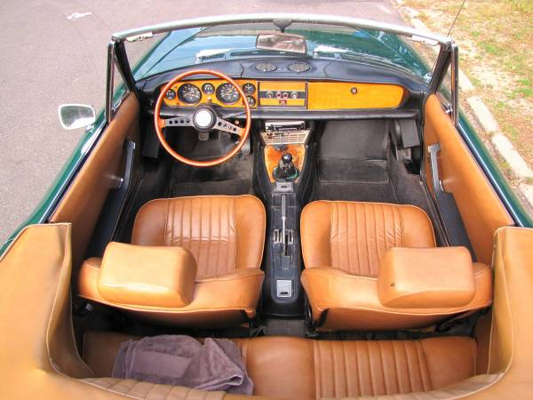 1972 Fiat 124 Spider, Classic Sportscar in Solid Condition for sale in Minneapolis, MN – photo 12
