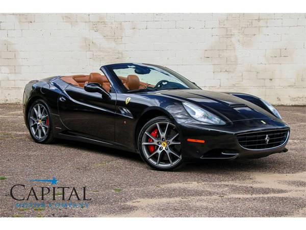 Affordable Exotic! '11 Ferrari California Roadster Convertible! for sale in Eau Claire, WI – photo 2