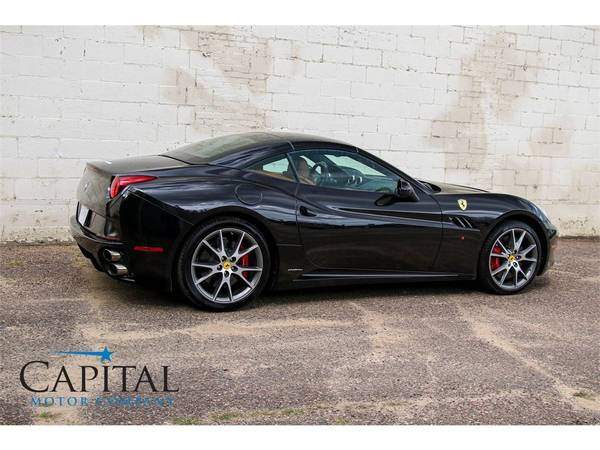 Affordable Exotic! '11 Ferrari California Roadster Convertible! for sale in Eau Claire, WI – photo 6