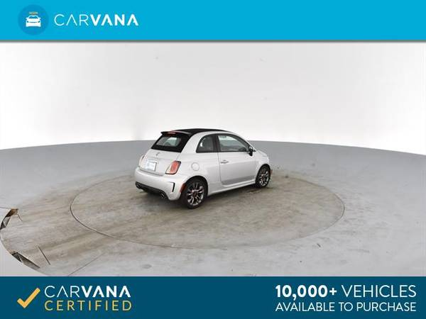 2014 FIAT 500c GQ Edition Cabriolet 2D Convertible Silver - FINANCE for sale in Atlanta, CA – photo 11