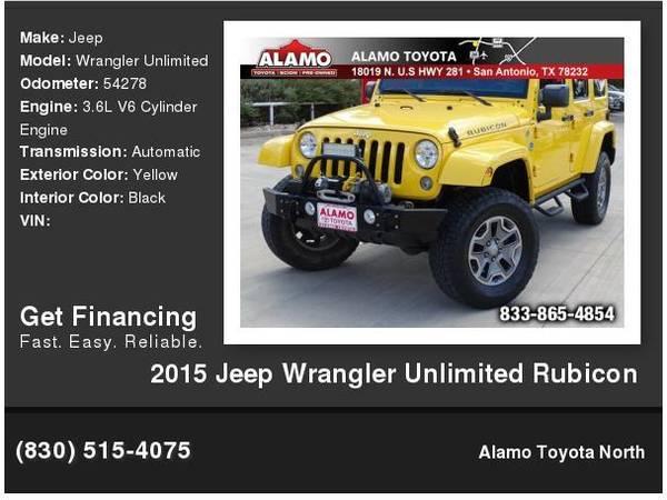 2015 Jeep Wrangler Unlimited Rubicon For Sale In San Antonio Tx Classiccarsfair Com
