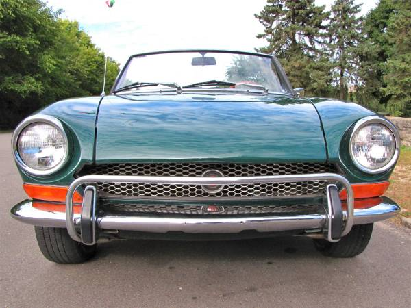 1972 Fiat 124 Spider, Classic Sportscar in Solid Condition for sale in Minneapolis, MN – photo 8