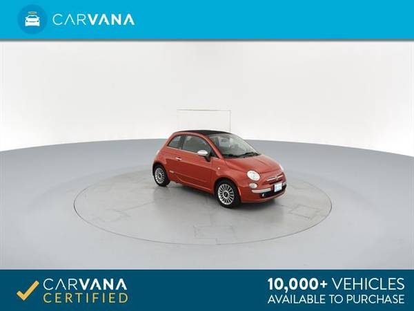2012 FIAT 500 500C Lounge Convertible 2D Convertible RED - FINANCE for sale in Macon, GA – photo 9
