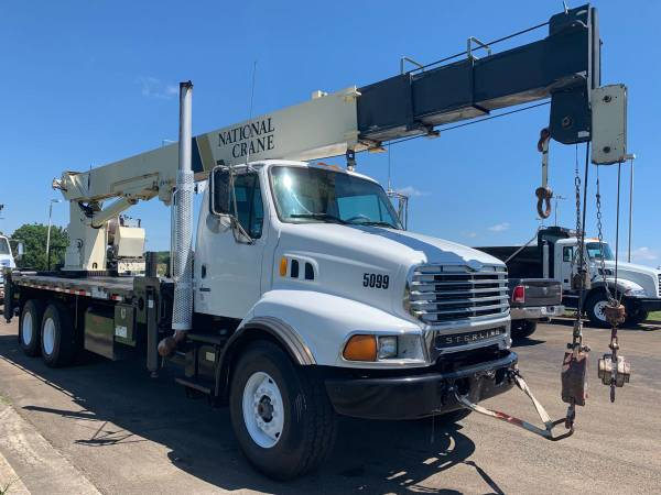 2002 Sterling National 1300 Series 30 Ton Crane Truck Boom Truck-... for sale in Jasper, MS – photo 4