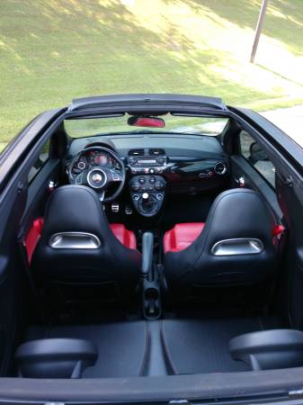 2013 Fiat 500 Abarth Cabrio GREAT CONDITION for sale in Chevy Chase, District Of Columbia – photo 7