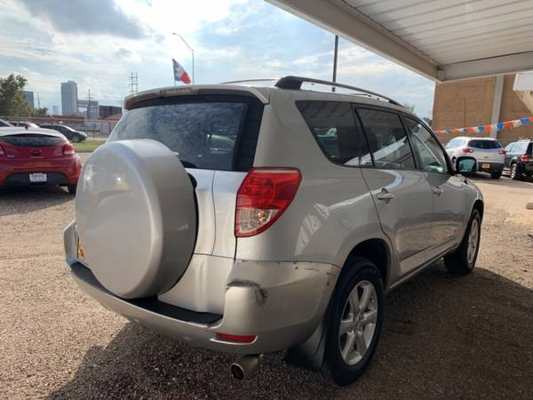 2007 TOYOTA RAV4 LIMITED for sale in Amarillo, TX – photo 5