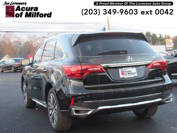 2019 Acura MDX SUV SH-AWD w/Technology Pkg (Majestic Black Pearl) for sale in Milford, CT – photo 5